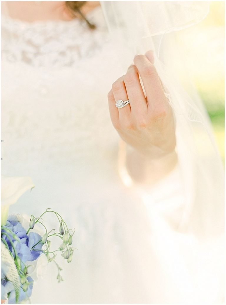 Fine art photography Ring detail shot on medium format