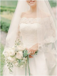 Pronovias lace gown