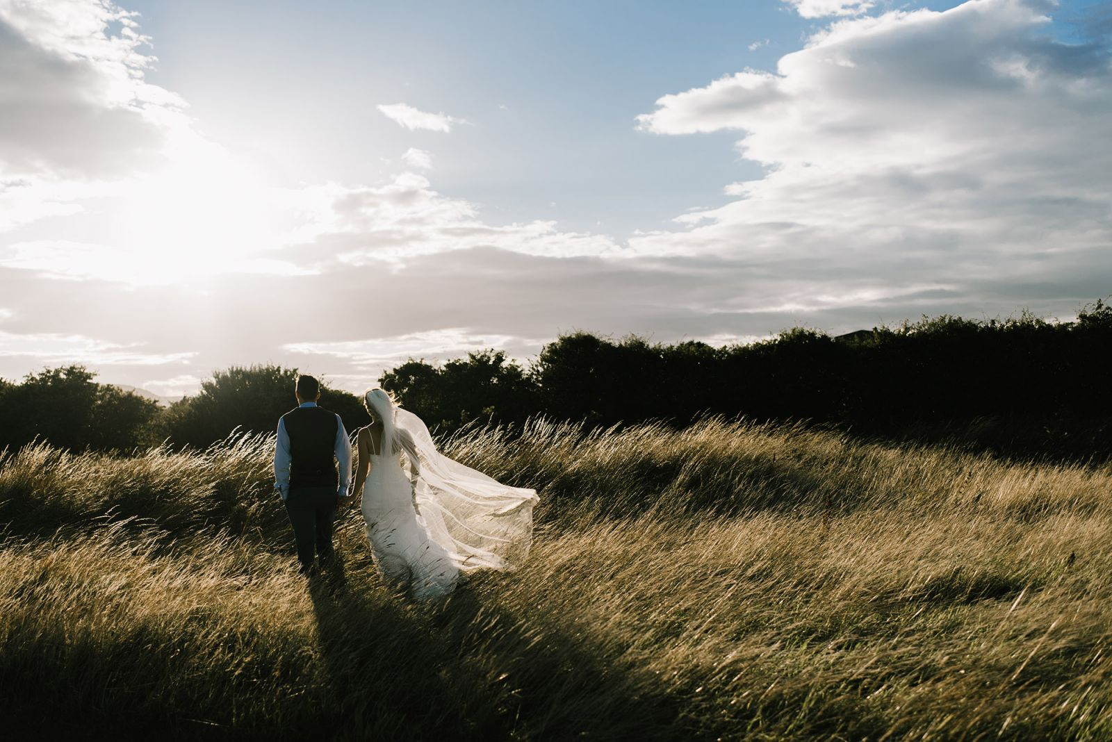 Yorkshire Wedding Photography golden hour moments