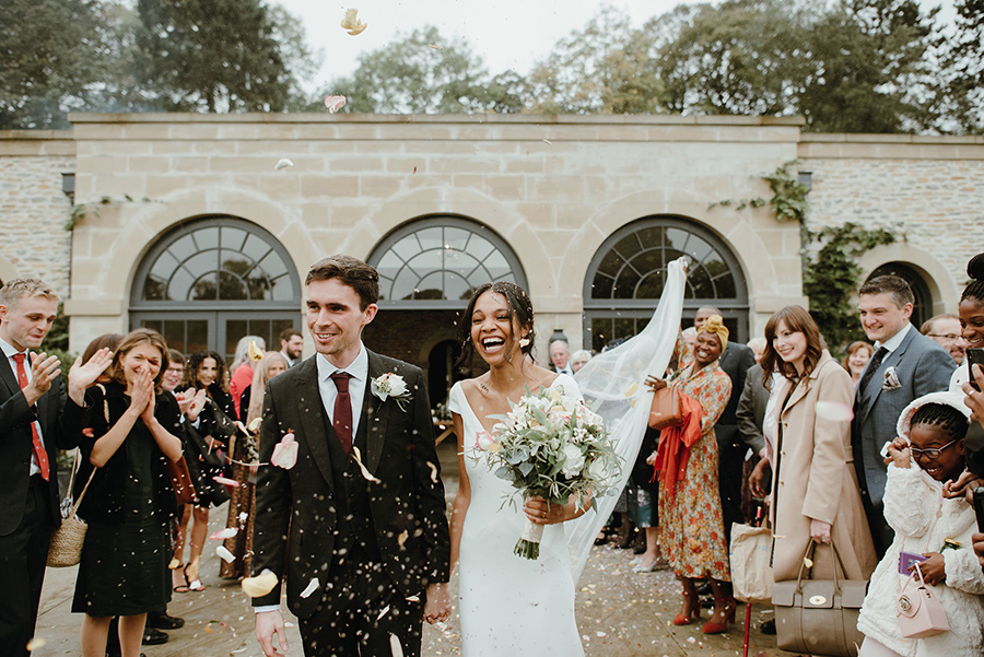 Confetti at Middleton Lodge Fig House