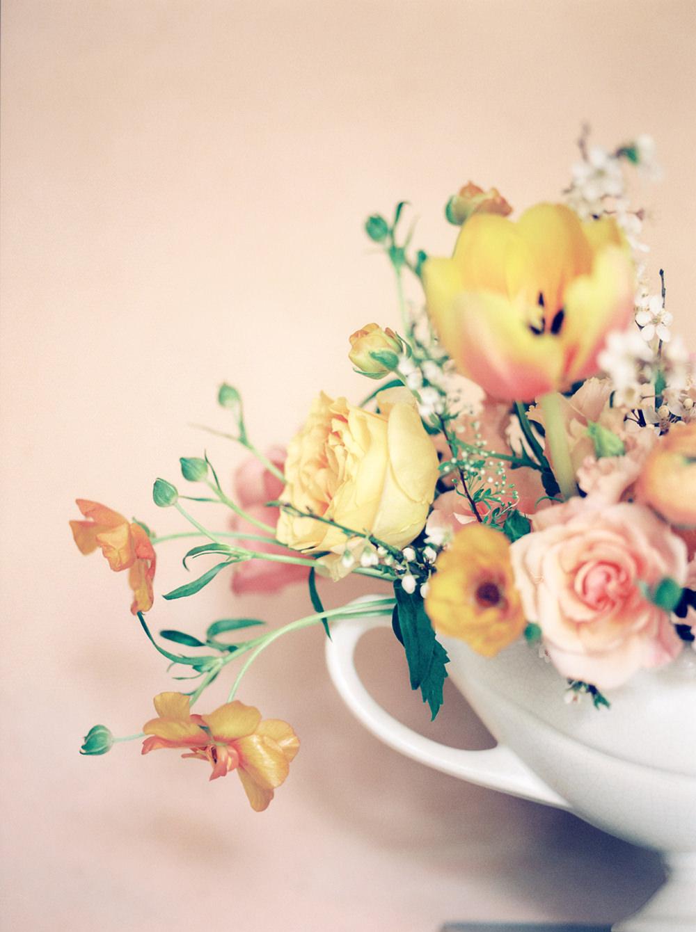 Peachy Florals