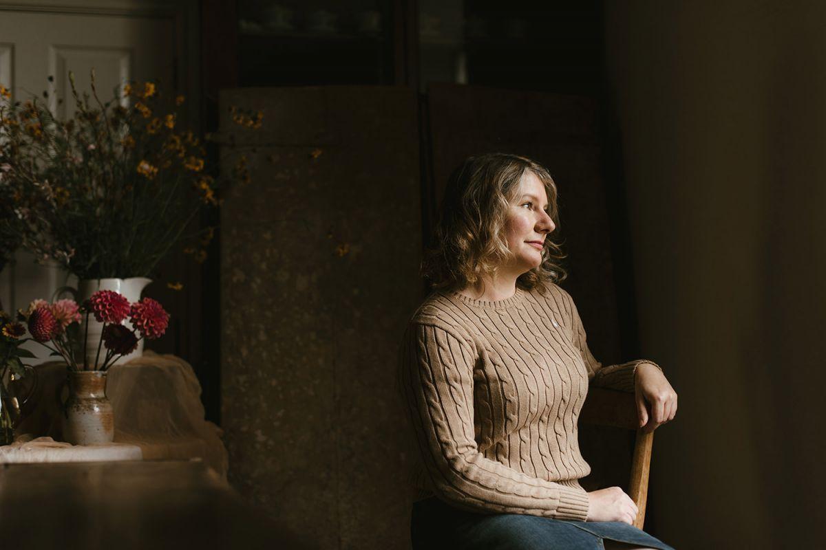 Window lit portrait